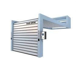 Aluminum Insulated Door