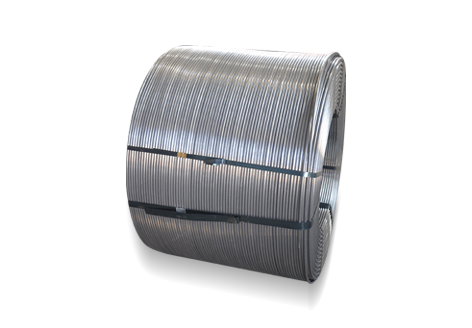 Mg-Fe Nitride Cored Wire
