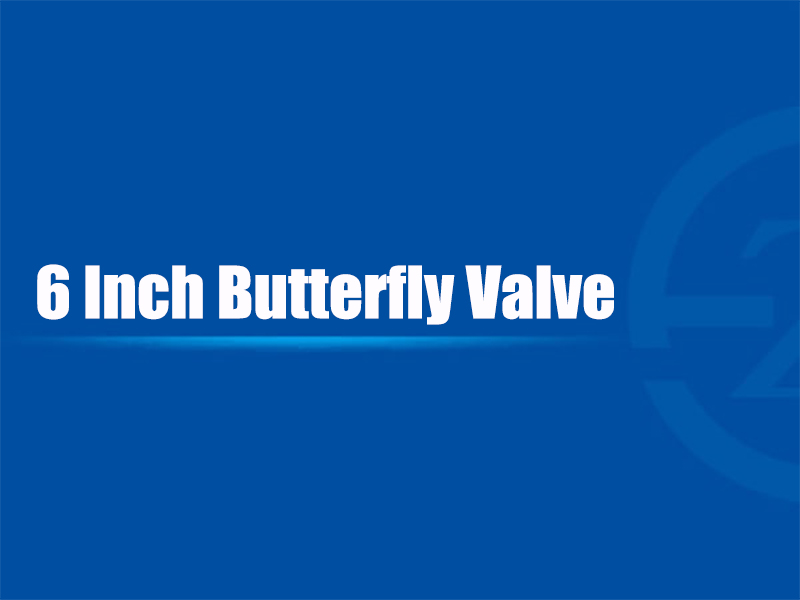 6 Inch Butterfly Valve