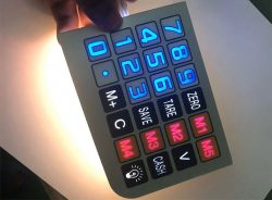 Backlit Membrane Switch