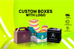 Custom Printed Boxes with Logo Build Strong Image