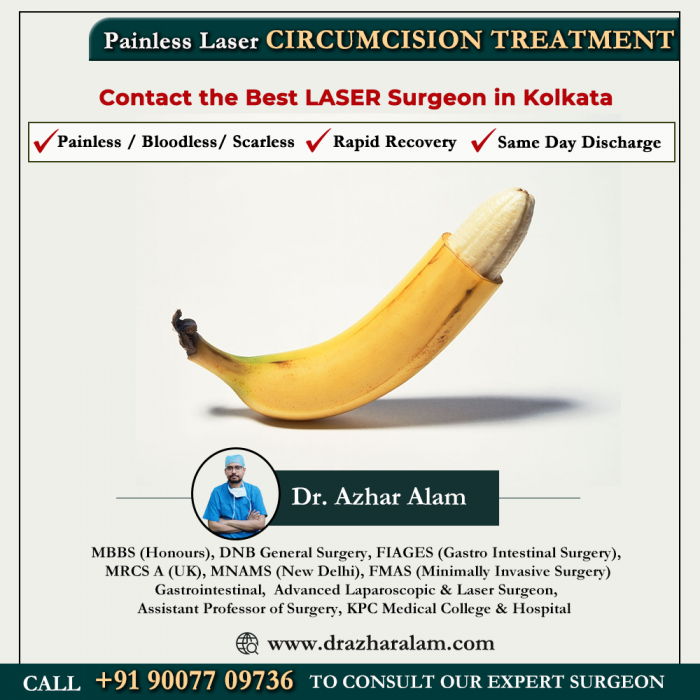 Circumcision Doctor in Kolkata | Laser Circumcision Surgery in Kolkata