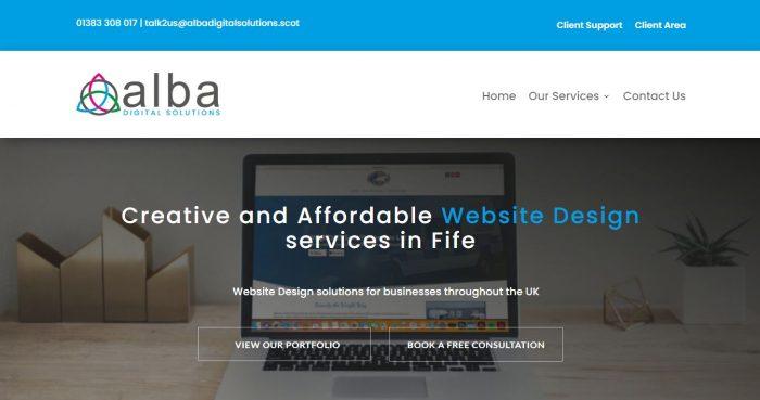 Web designer Kirkcaldy