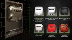 Secadora de manos