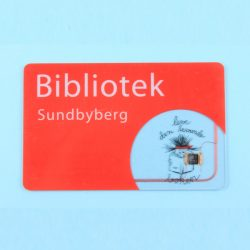 RFID HF (13.56MHz) Plastic Proximity ID Card With Full Color Printing For Member Management System