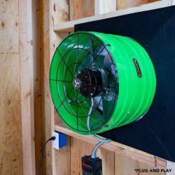 Smart Energy Saver Attic Gable Fan AFG SMT ES-3.0