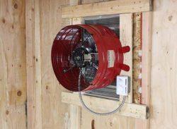 Attic Gable Fan QuietCool AFG PRO-3.0 3013 CFM