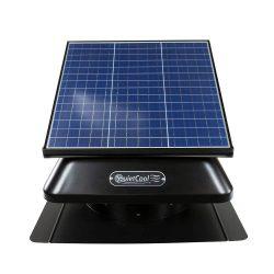 14″ Solar Attic Fan 40 W Panel – 1092 CFM