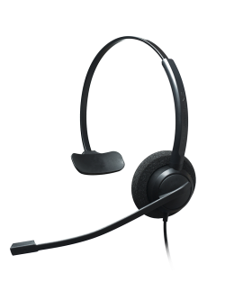 Crystal 2731-2732: Call & Contact Headsets With Noise Canceling Microphones