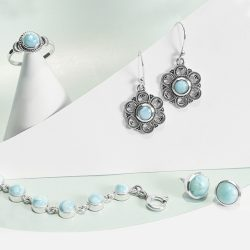 Beautiful Larimar Jewelry at Best Wholesale Prices