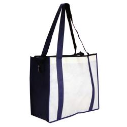 Non Woven Large Zipped Shopping Bag – NWB017