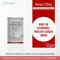 Buy Abirapro Abiraterone 250 mg Tablet Online at the Lowest Price