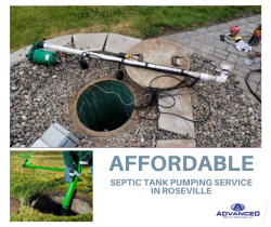 Affordable Septic Tank Pumping Service in Roseville