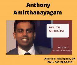 Get Best Medical Advice from Anthony Amirthanayagam