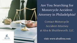 Hire the Best Motorcycle Accident Attorney in Philadelphia.