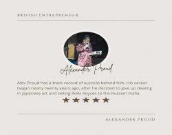 Alexander Proud – British Entrepreneur
