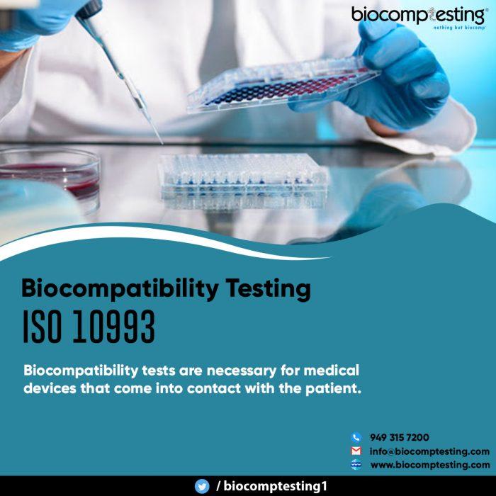 Biocompatibility Testing ISO 10993