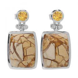 Brecciated Mookaite Sterling Silver Jewelry