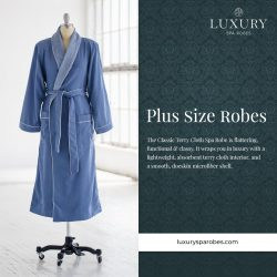 Buy The Best Plus Size Robes | Luxury Spa Robes