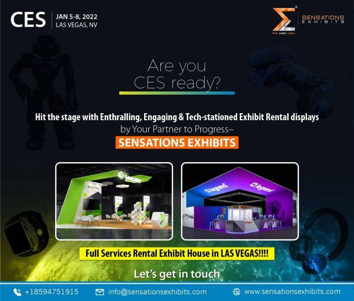 Exhibit In CES Las Vegas 2022 With Sensations Exhibits