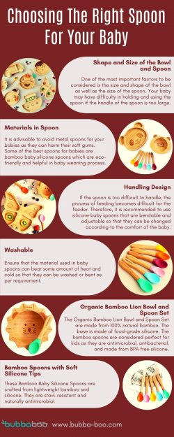 Choosing The Right Spoon For Your Baby
