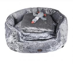 Large Pet Cuddle Bundle Grey