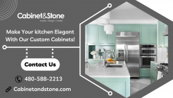 Custom Designed Cabinets for Your Kitchen