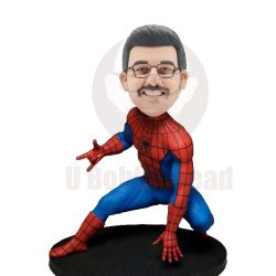 Custom Spider Man Bobblehead With Classic Gestures