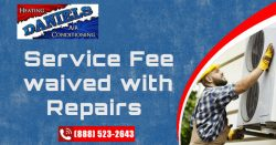 Service Fee Waived With Repairs