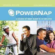 Need Power naps