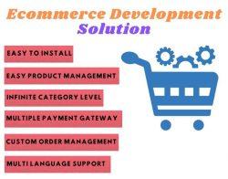 eCommerce development solution