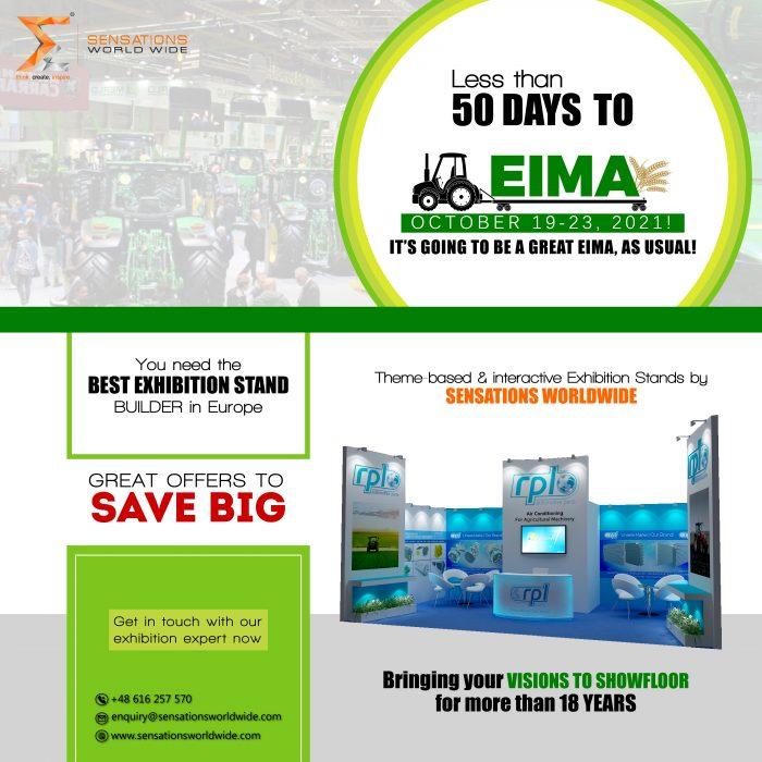 Exhibit in EIMA International 2021 With Sensations Worldwide