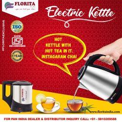 Electric Kettle Manufacturers- Florita