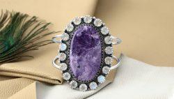 Buy Wholesale Charoite Jewelry By Rananjay Exports