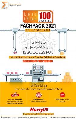 Exhibit In FachPack 2021 With Sensations Worldwide
