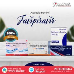 Favipiravir 200mg, 400mg Tablet Medicine – Covid Fabiflu, Covihalt, Fluguard, Favivir