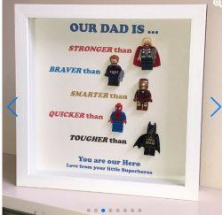 Superhero Frame For Dad