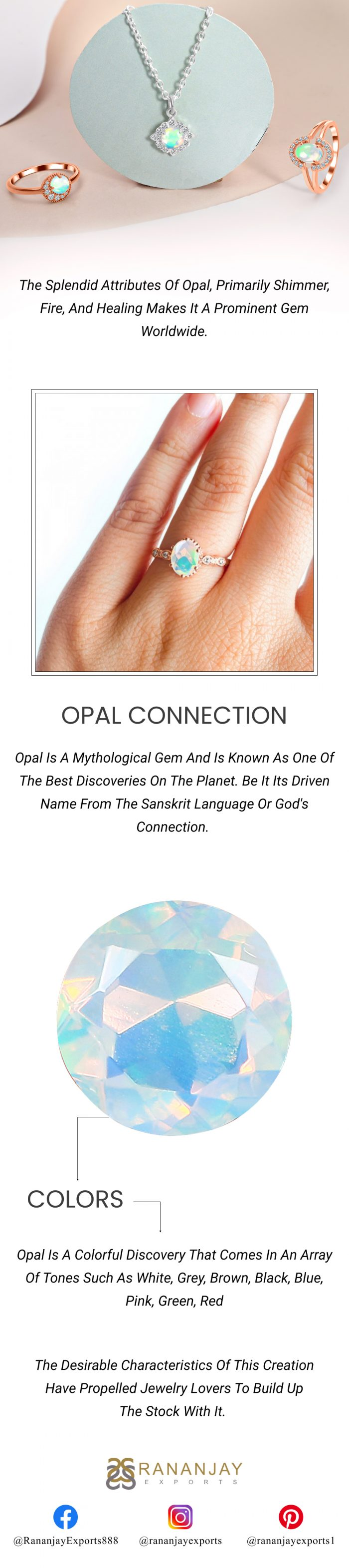 Buy Opal Jewelry At Wholesale Price.