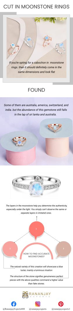 Moonstone Rings Collection with Latest Design