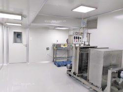 Temperature control facilities for food cleanroom