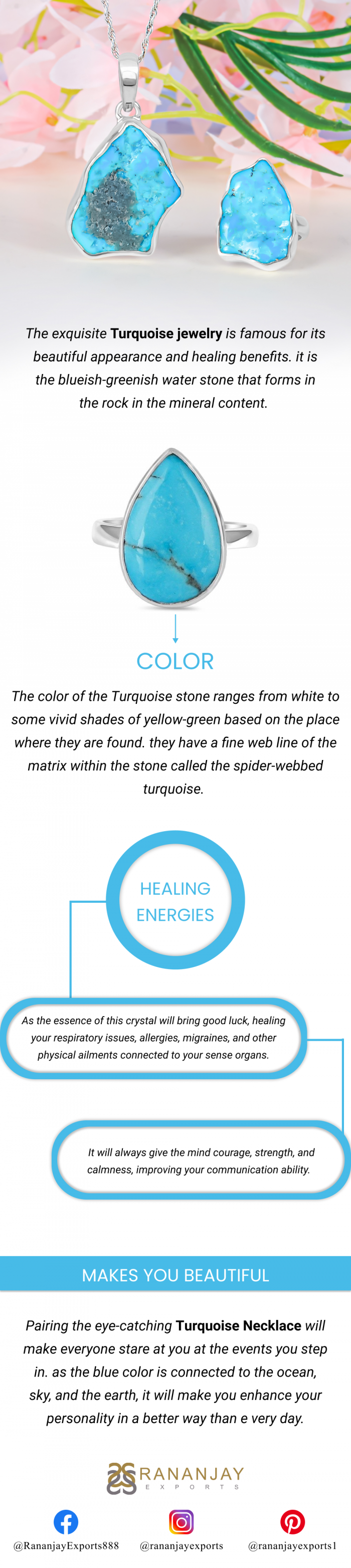 Turquoise Stone Color And Healing Energies