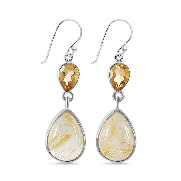 Buy Golden Rutile Jewelry at Wholesale Prices.
