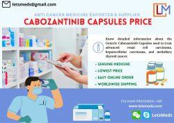 Generic Cabozantinib Tablet Price Wholesale
