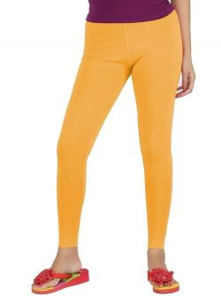 Buy Golden Colour Leggings Online at Best Prices in India | Ramraj Cotton