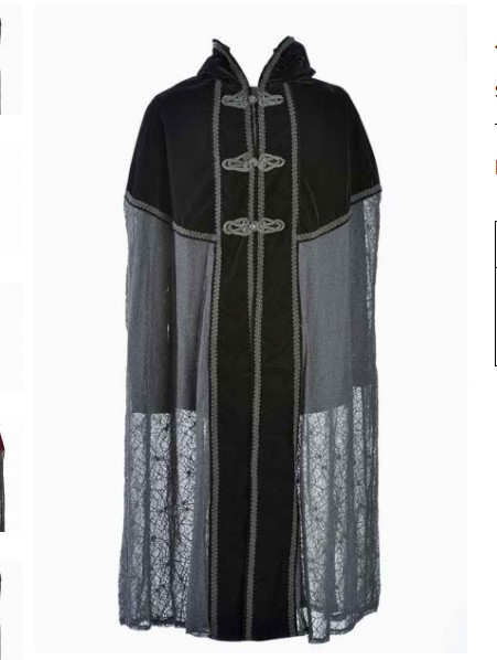Buy Hooded Gothic Capes Online at Low Prices