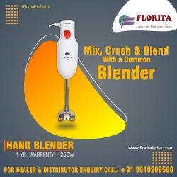 Hand Blenders Manufacturers In India- Florita India