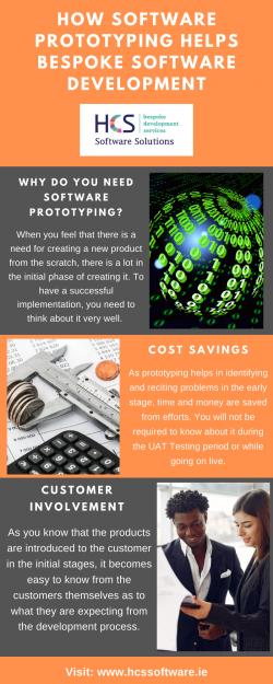 How Software Prototyping Helps Bespoke Software Development