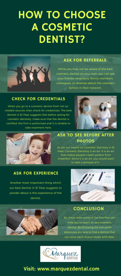 HOW TO CHOOSE A COSMETIC DENTIST?
