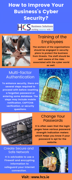 How to improve your business's cyber security?