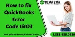 QuickBooks Error Code 15103